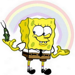 Sponge Bob (Спандж Боб, Губка Боб) — мультяшный герой, покоривший мир